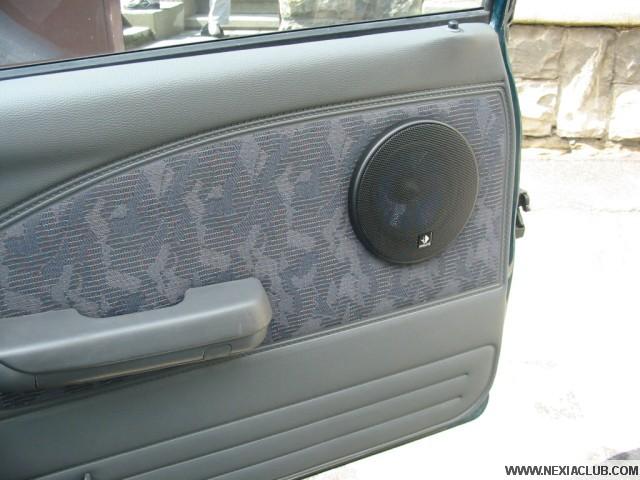 Instalace reproduktorů do předních dveří Daewoo Nexia 2