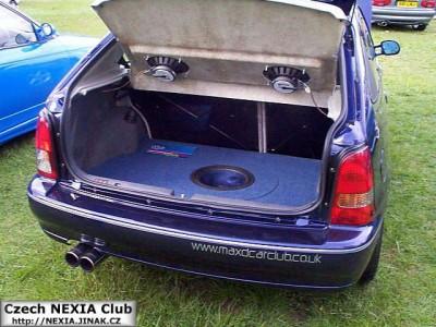 Daewoo Nexia auto hifi
