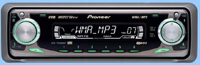 Autoradio Pioneer 3600 MP