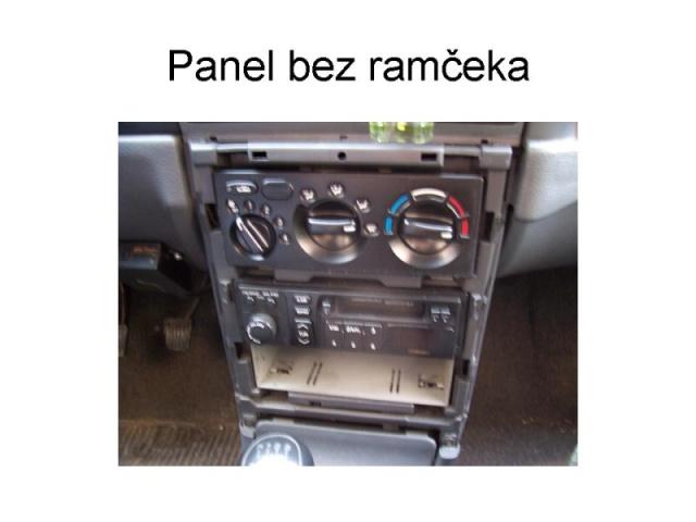 Výměna originálního radia Tank 2