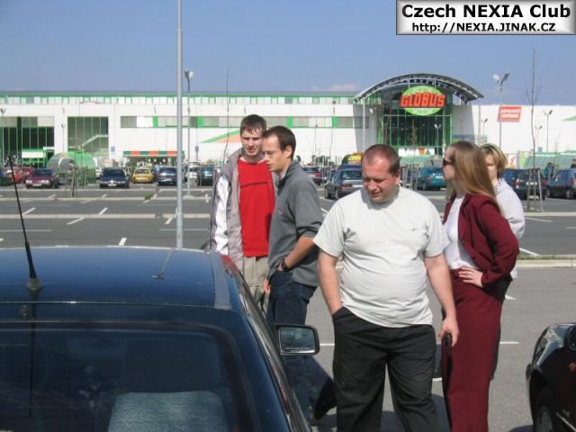 Moravský Daewoo sraz Olomouc 10.4.2004