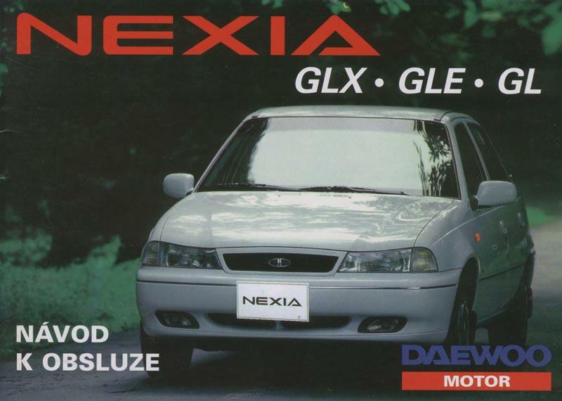 Daewoo Nexia - návod k obsluze