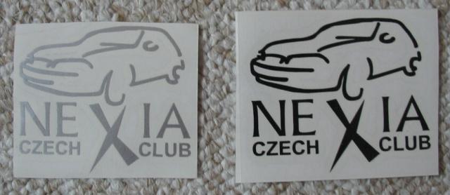 samolepka daewoo nexia club