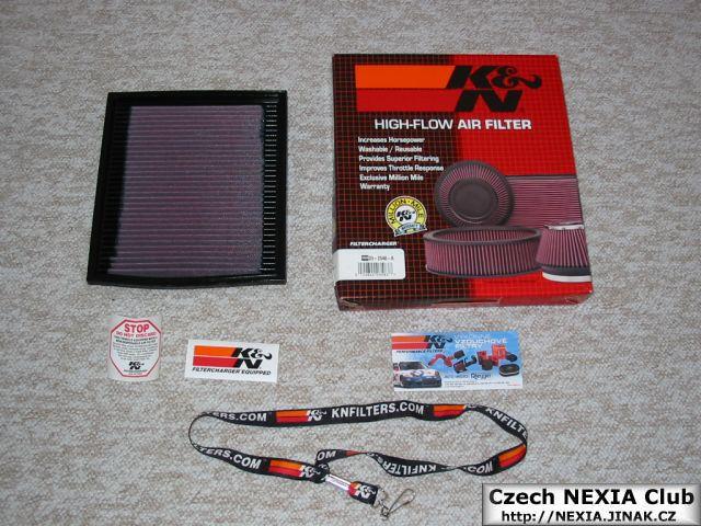 Sportovní filtr - vložka KN - Daewoo Nexia