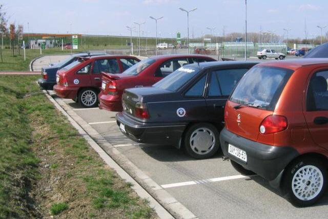Moravský Daewoo sraz - Olomouc 10.4.2004