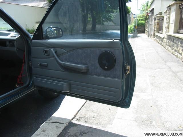 Instalace repro do předních dveří - Daewoo Nexia hatchback